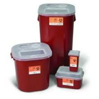 Sharps Container 1 Gallon Stackable Case/24