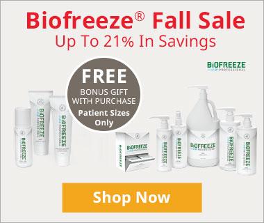 Biofreeze Fall Sale Promo