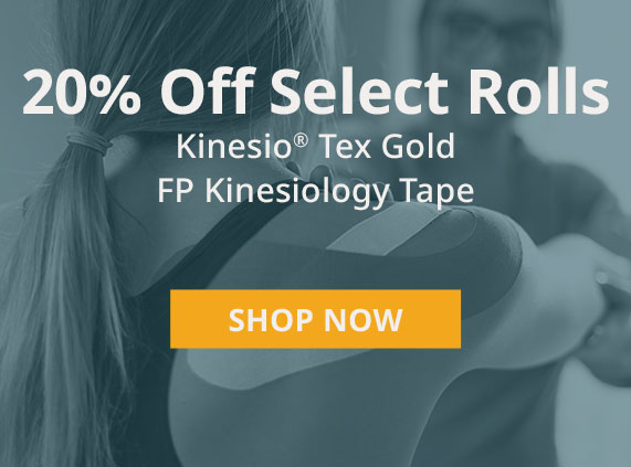 Tex Gold FP Kinesiology Tape