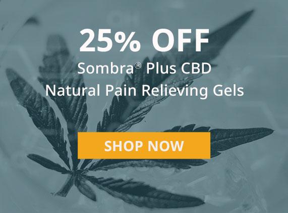 Sombra Natural CBD Gell